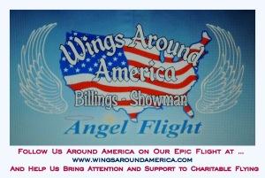 Wings Around America Logo