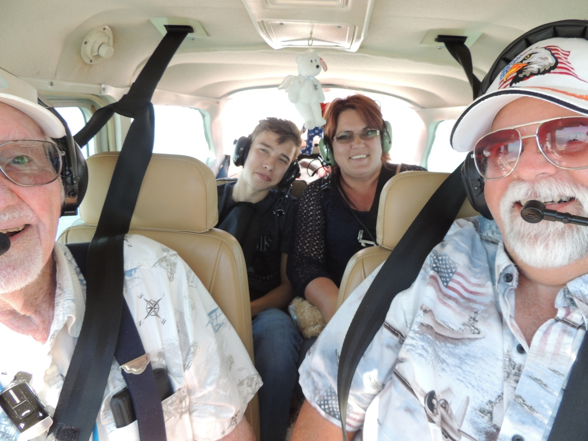Heading to Petersburg Va with Matthew and his Mom Shelia