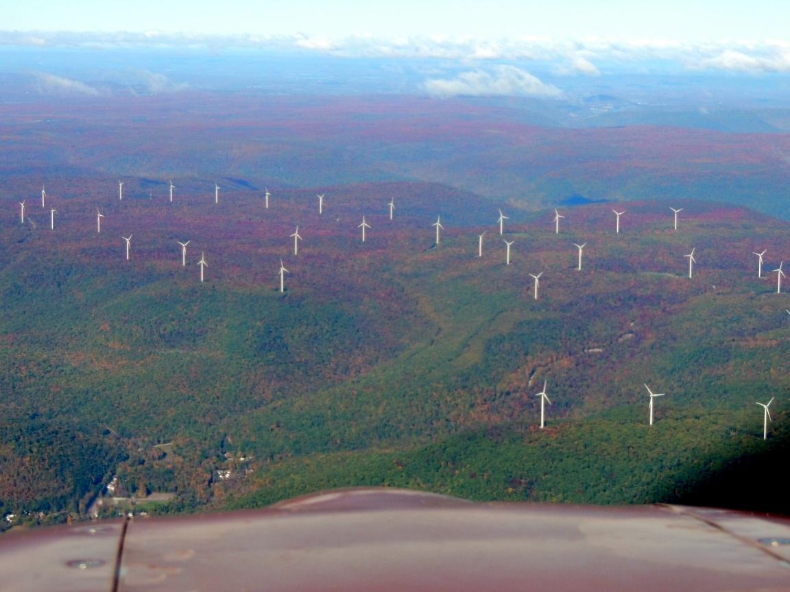 Windmills at 12 O'Clock High...... Pennsylvania