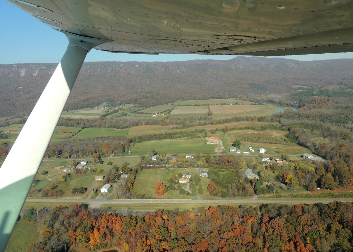 Departing Luray headed for Greensboro NC