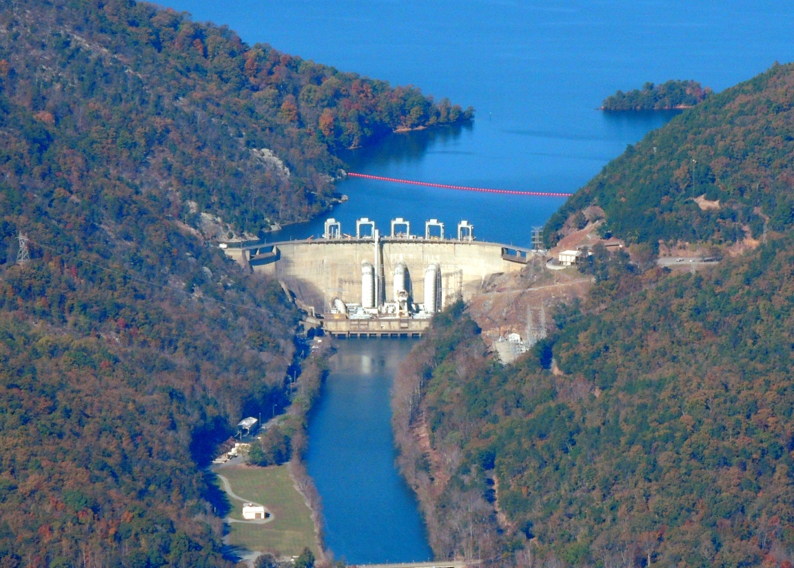 The Dam at Smith Mountain Lake (Virginia)
