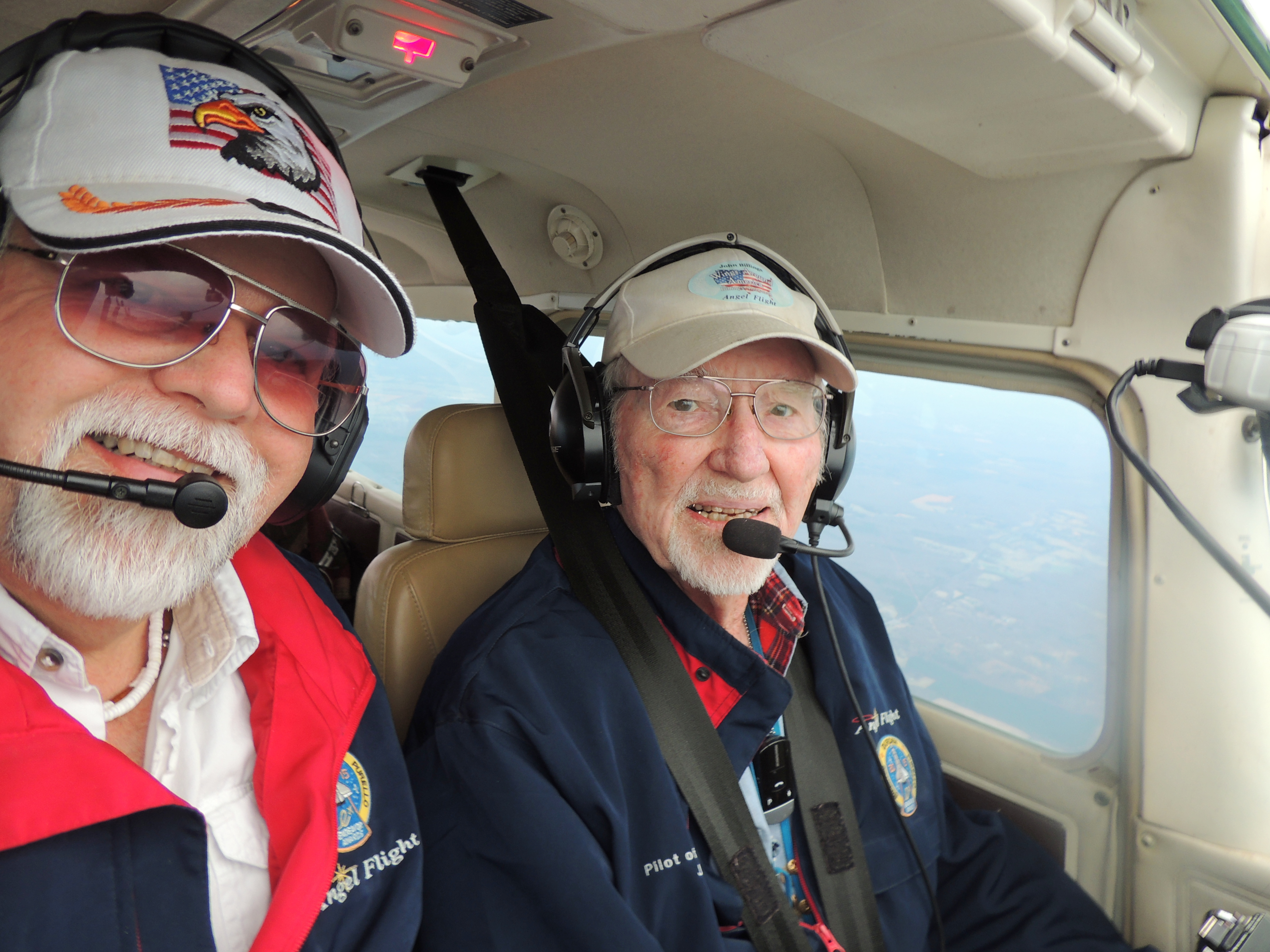 Heading Home....... Angel Flight Double Mission March 6th 2017