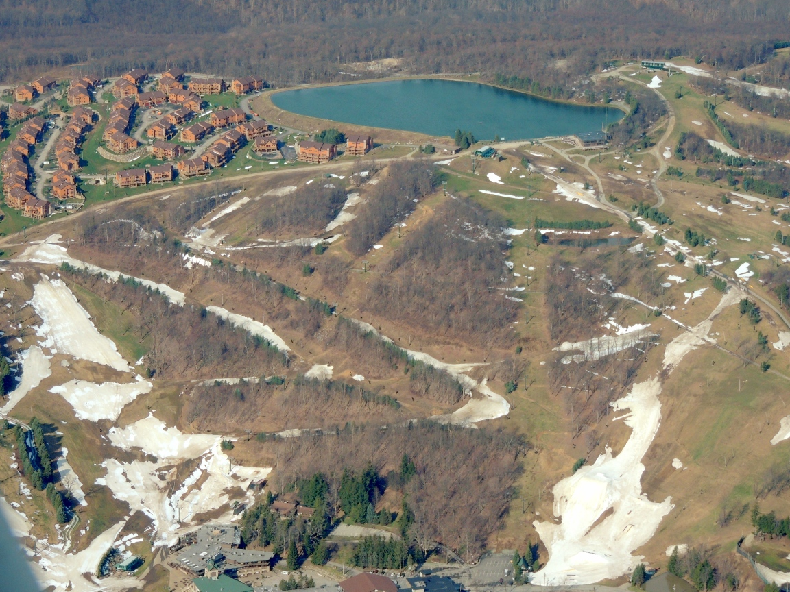 Seven Springs Mountain Resort PA (Still a little snow)