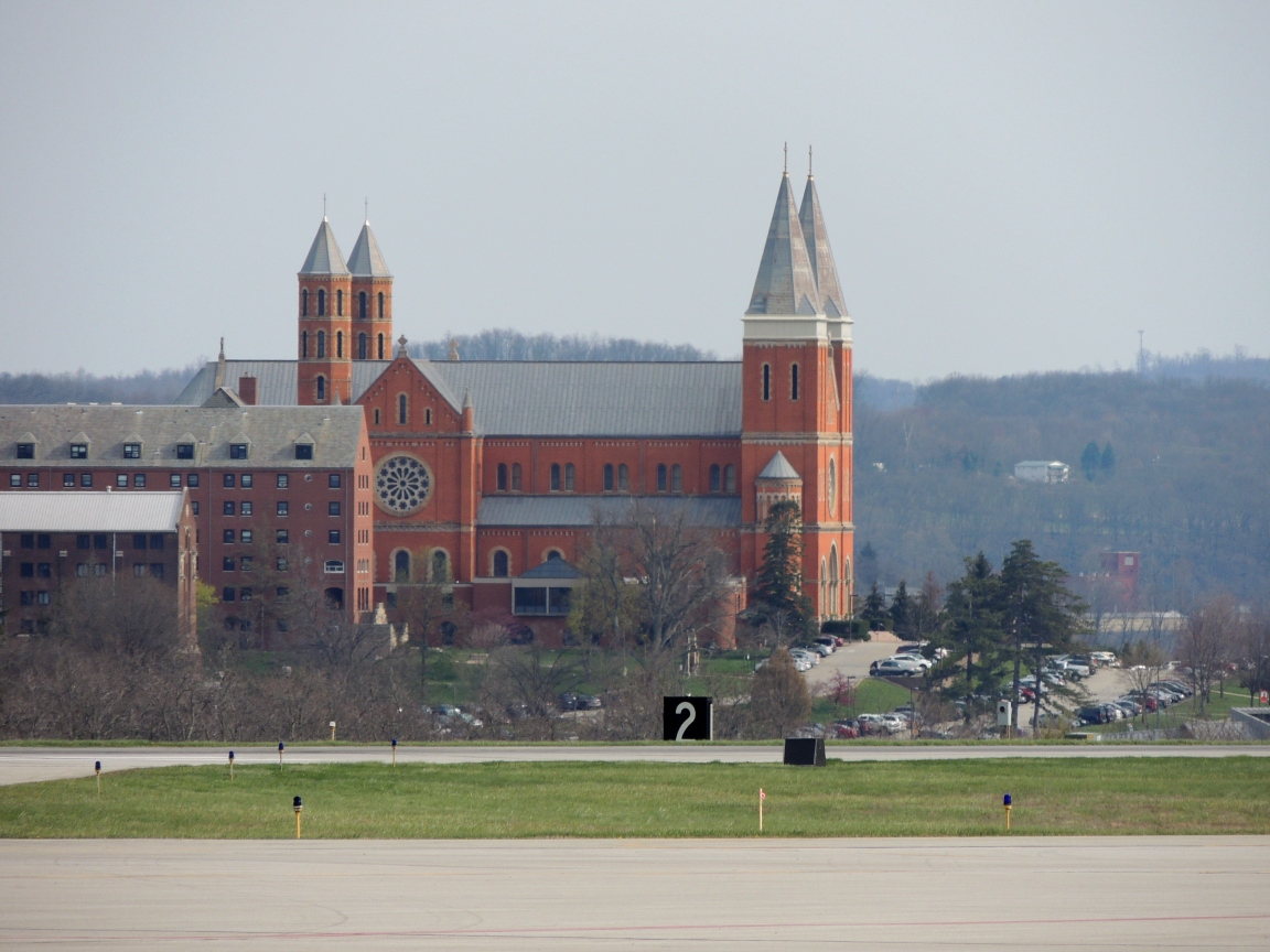Saint Vincent Seminary (View from Arnold Palmer Regional Airpot)