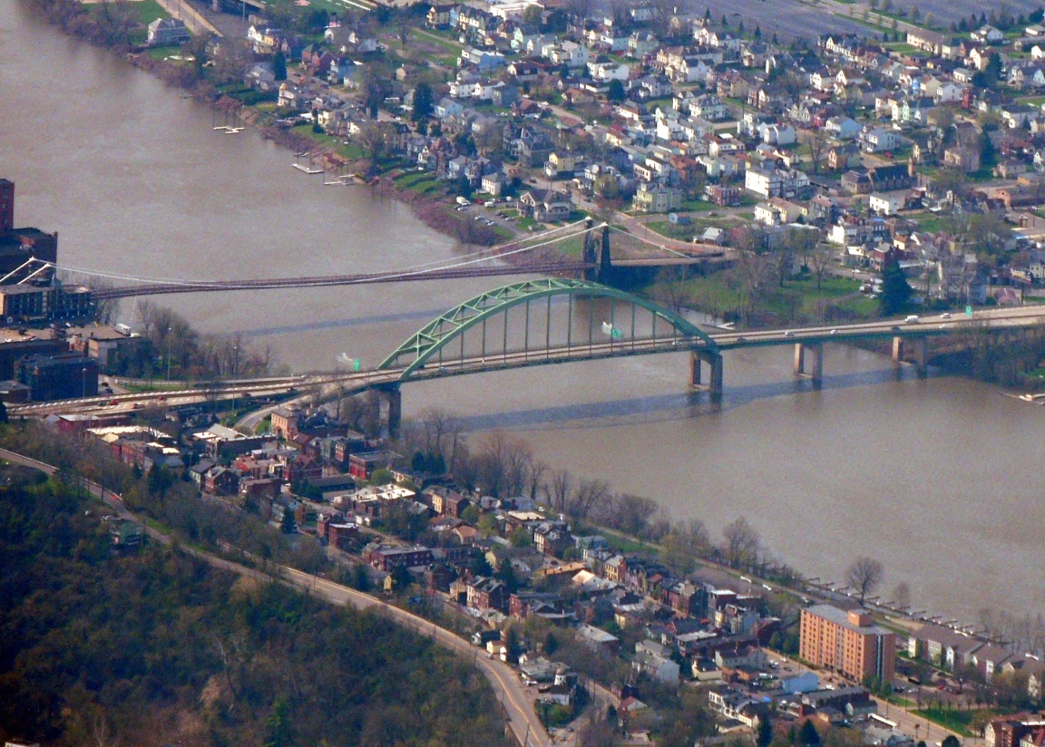 Bridges at Wheeling WVa
