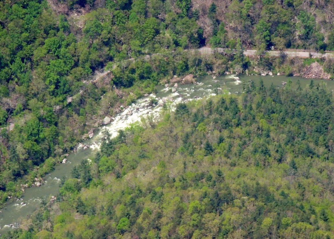 Rapids somewhere in Virginia