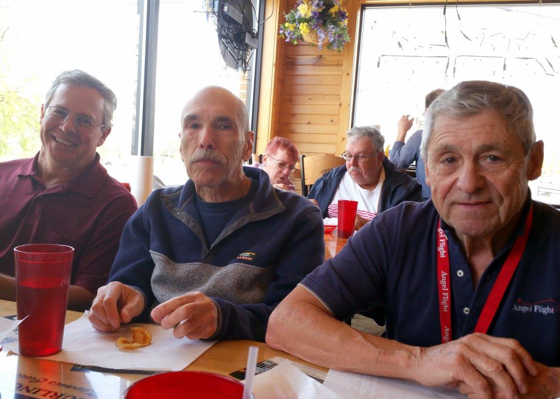 Pilot's ..........       Kenny, Carl and Bob