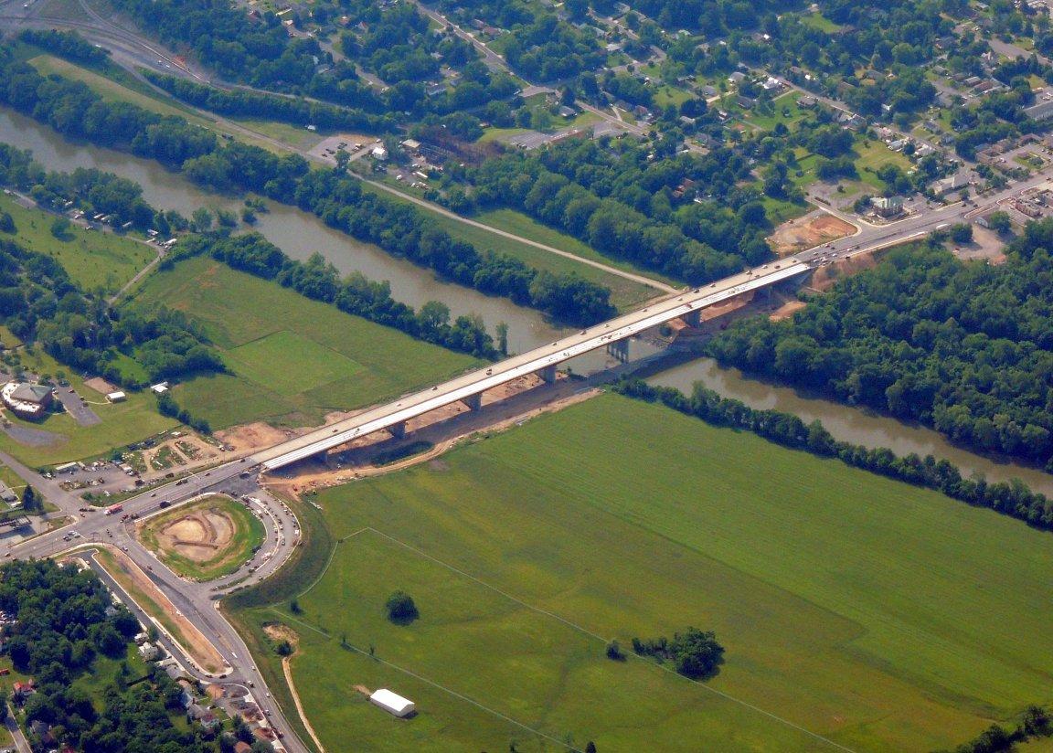 New Bridge construction (Front Royal Virginia)