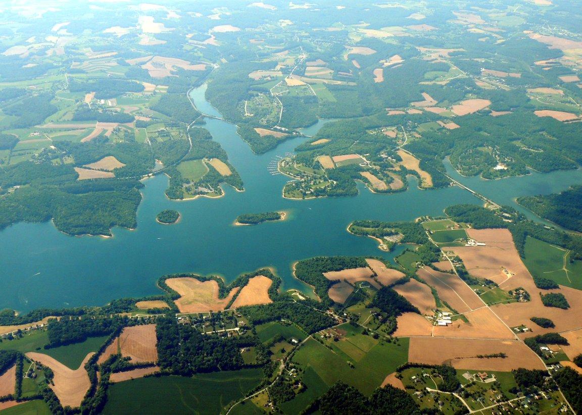 Lake Marburg PA  (1,300-acre reservoir)