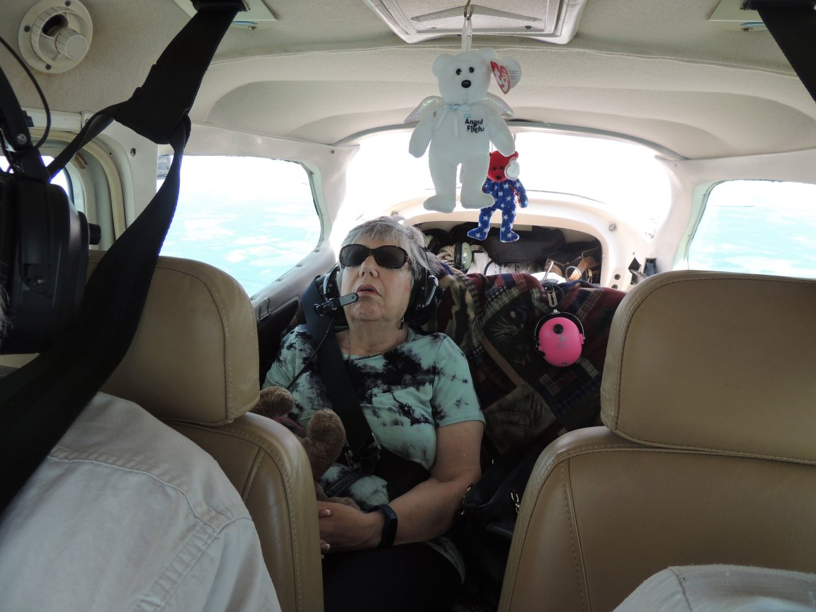 Its a complement to us when our flying puts our passengers to sleep !