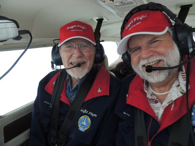 Here are two Pilots with their heads in the clouds ...... literally !