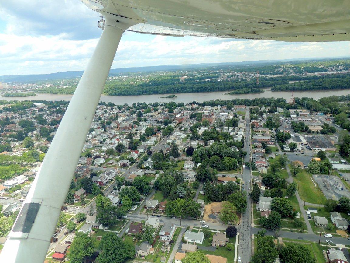 Departing Harrisburg PA