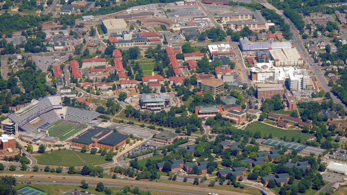 James Madison University... Harrisburg VA