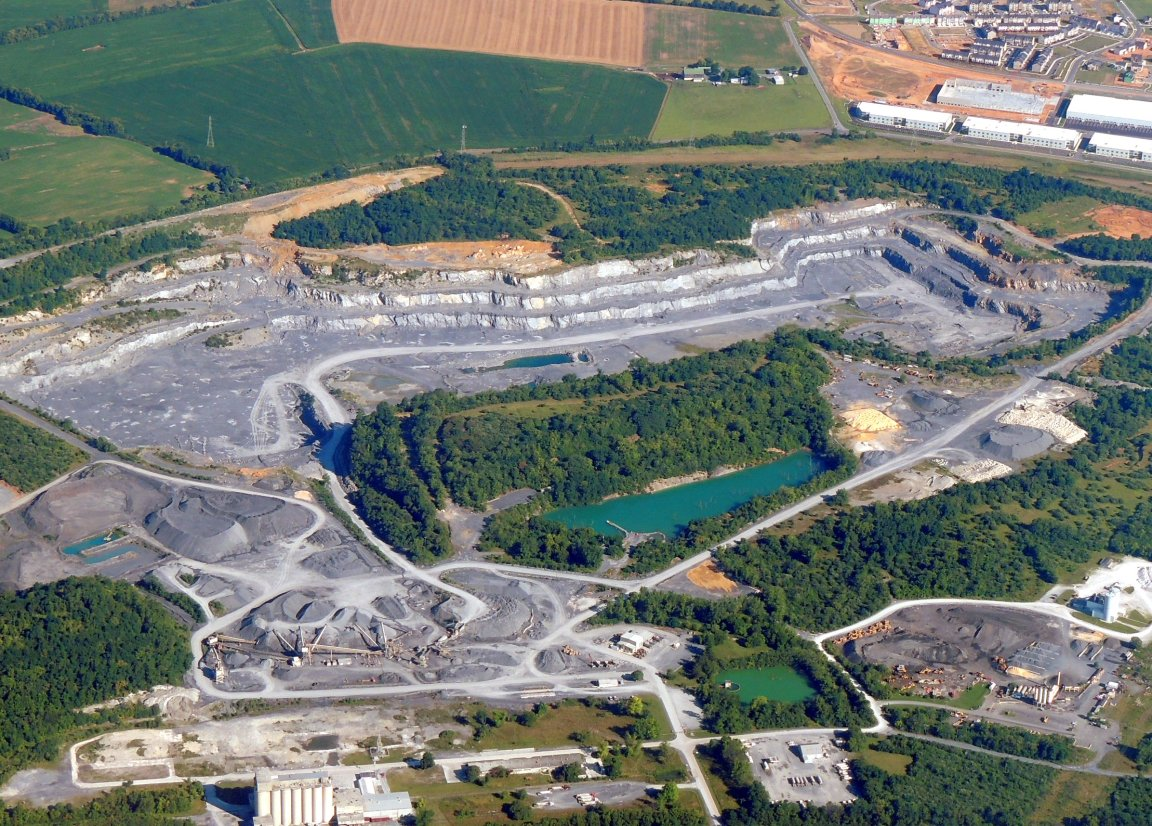 Quarry in Maryland