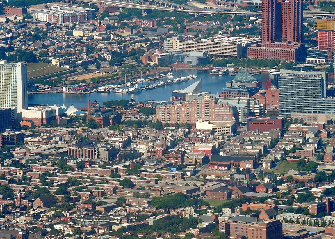 Inner Harbor.... Baltimore Maryland