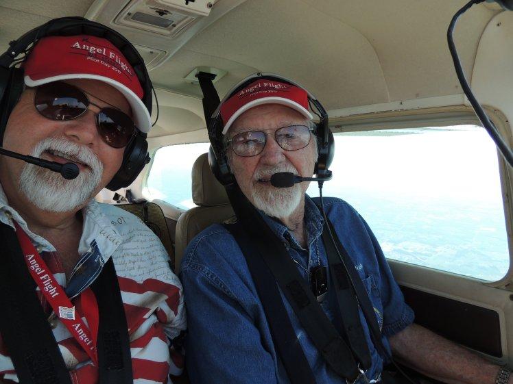 Heading home ..... Angel Flight Mission July 31st 2017