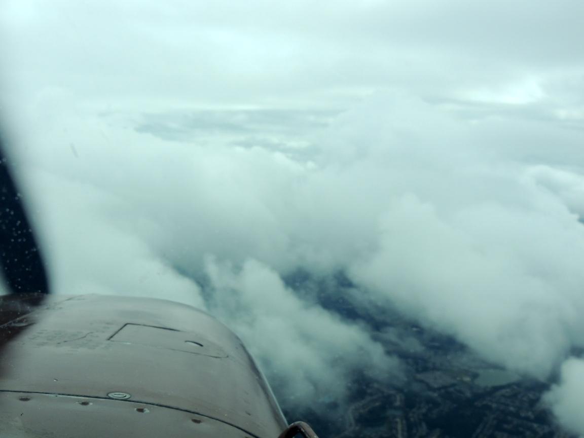 Descending into the Norfolk area