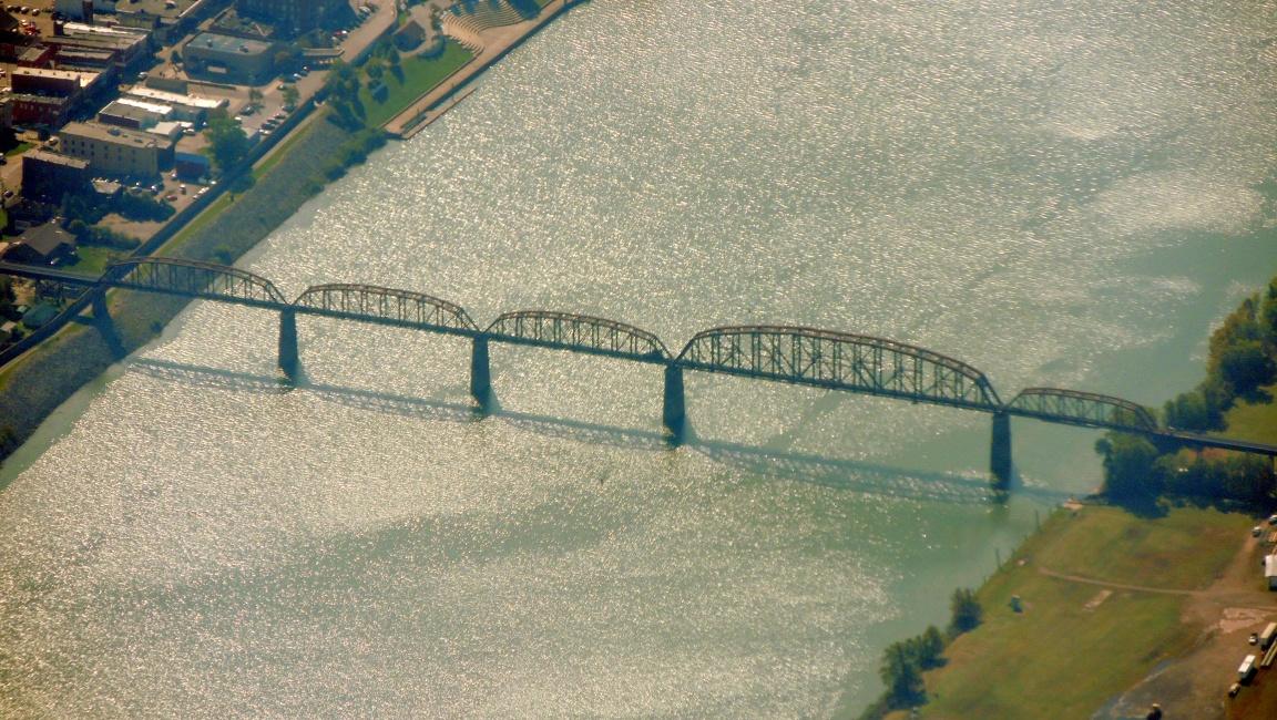 Bridge across the Ohio River