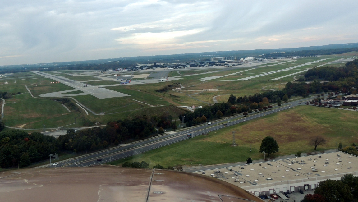 Cleared for Runway 33R ..... Baltimore MD (BWI)