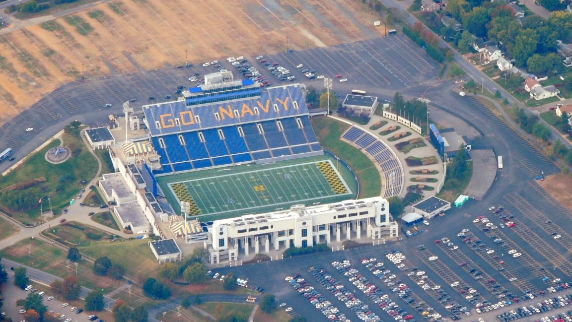 Football Stadium at the US Naval Academy