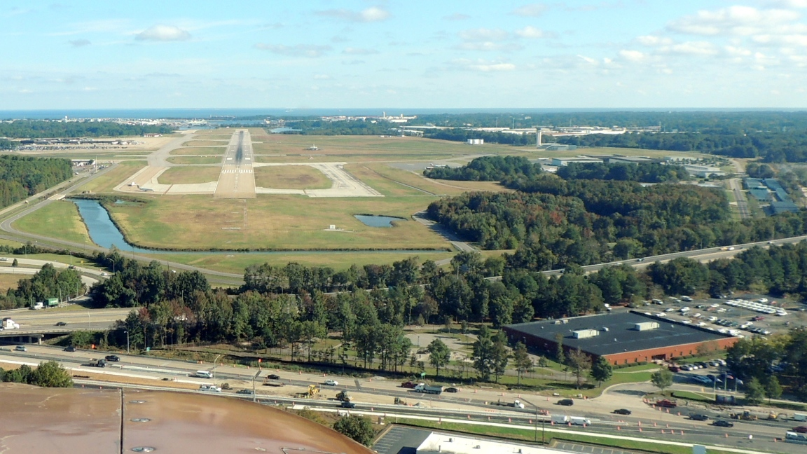Cleared to land..... Runway 5 (Norfolk VA)