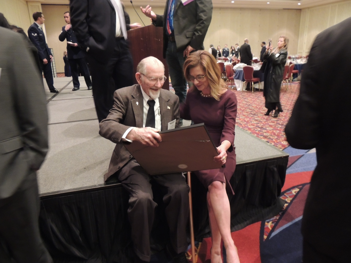 Captain John with Jeanine Chambers (Executive Director of Angel Flight South)